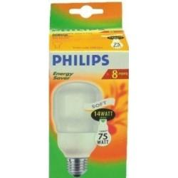 Świetlówka energooszczędna Philips Ambiance Soft 14W   E27  (75W)