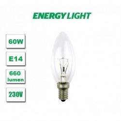 Żarówka tradycyjna E14 świeczka 60W Energy Light
