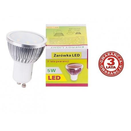 Żarówka LED GU10 Energy Light 5W barwa ciepła