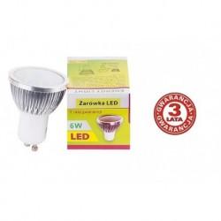 Żarów. LED Energy Light GU10 6W ciepły biały 120°