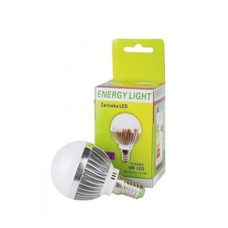 Żarówka LED Energy Light E14  kulka 5W