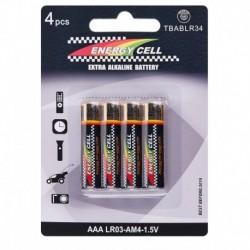 Bateria LR03 Energy Cell  blister 4 ssztuki AAA baterie