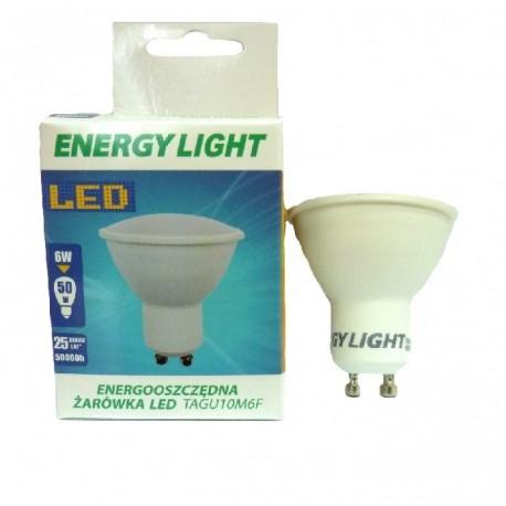 Żarówka LED GU10 6W odpowiednik 50W