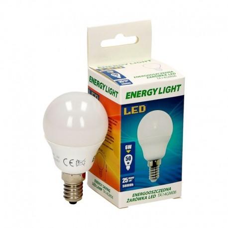 Żarówka LED kulka 6W /50W  E14 mały gwint