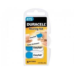 Bateria Duracell do aparatu słuchowego DA-675